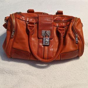 Burnt orange purse